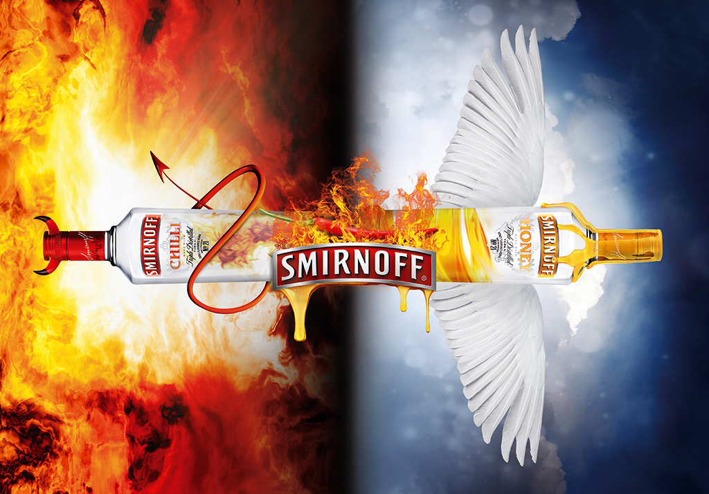 Smirnoff: Chilli Honey Vodka