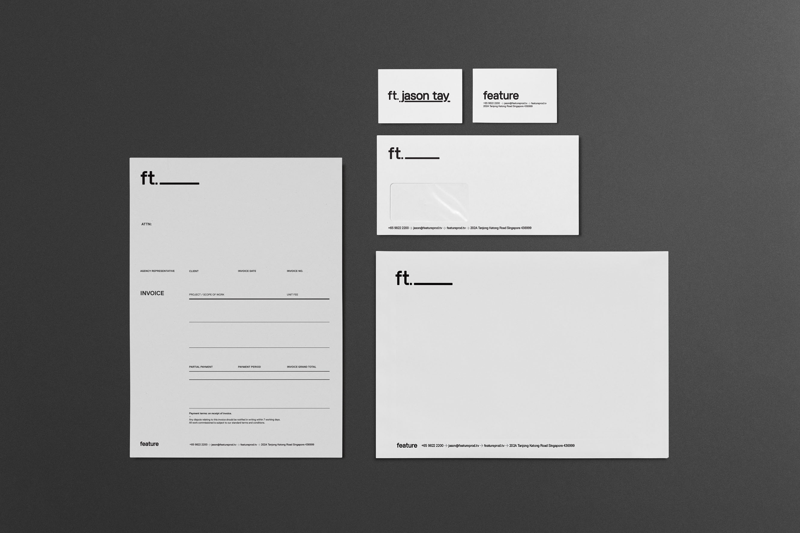 Feature Stationery