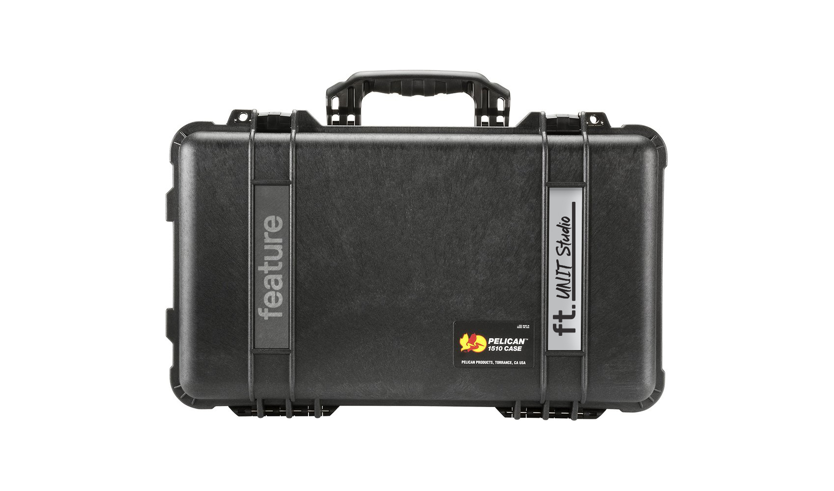 Feature rolling-travel-carry-on-case