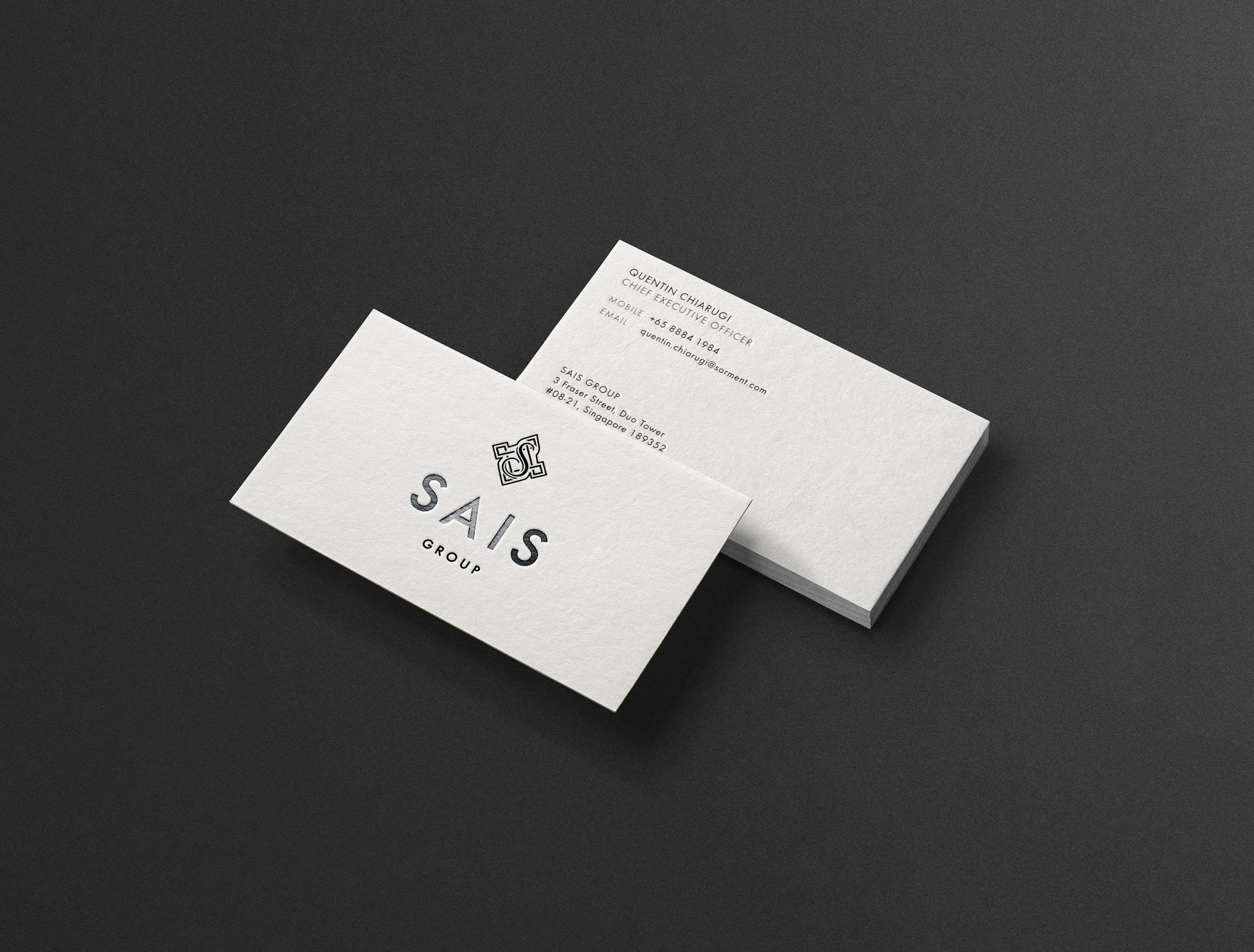 SAIS Namecard