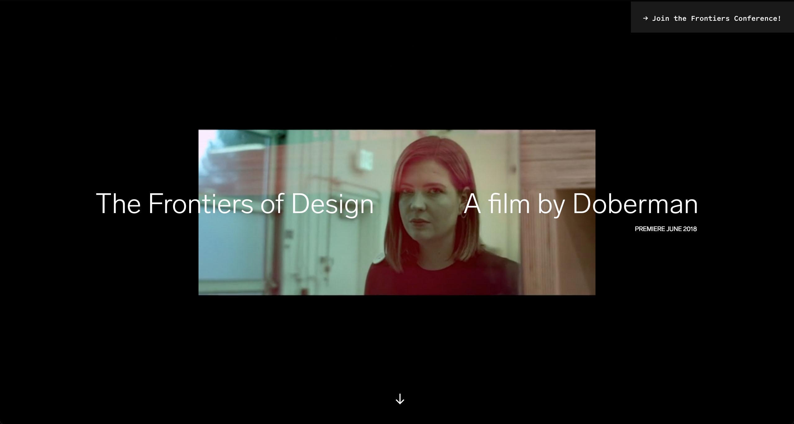 Frontiers of Design