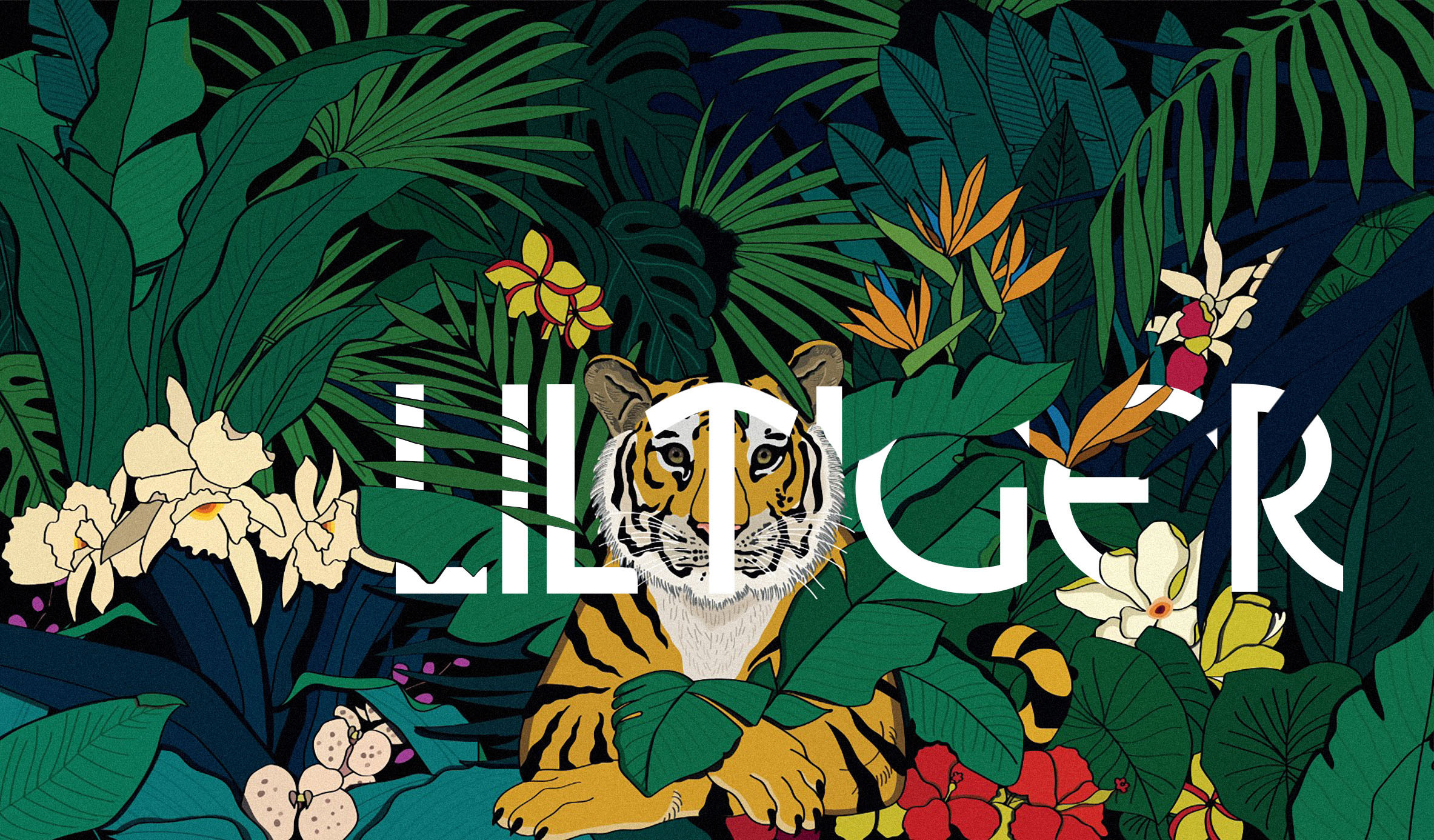 Lil' Tiger Mural